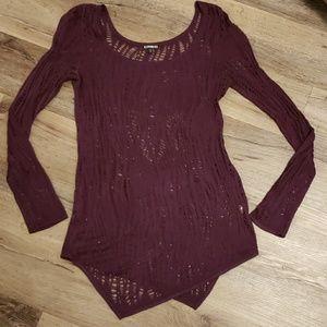 Express Knit See Thru Thin Sweater LIKE NEW